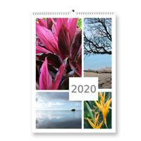 Fotokalendář A4 na výšku koláž