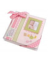 Dětské fotoalbum Baby memories 10x15/180 růžová Innova Editions Ltd