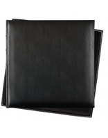 Fotoalbum 36x36/60s. Premium Bo.leather black Innova Editions Ltd