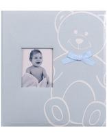 Dětské fotoalbum na růžky NEW BABY BEAR modré KPH Heisler Handelsgesellschaft mbH