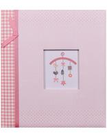 Dětské fotoalbum na růžky BABY MOBILEE růžové KPH Heisler Handelsgesellschaft mbH