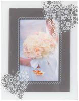Svatební skleněný fotorámeček 13x18 SWEET HEART KPH Heisler Handelsgesellschaft mbH