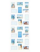 Dřevěný fotorámeček na více fotek 10x15 Collection bílý Innova Editions Ltd