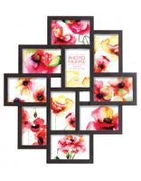 Černý fotorámeček na více foto, 10 fotografií 10x15 Innova Editions Ltd