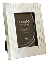 Skleněný fotorámeček PIN STRIPE 10x15 Innova Editions Ltd