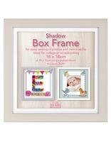 Čtvercový fotorámeček 20x20cm SHADOW BF Innova Editions Ltd
