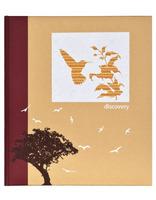Fotoalbum na růžky z recyklovaného papíru 28x32/60s. DISCOVERY HB Innova Editions Ltd