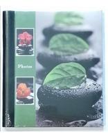Samolepící fotoalbum 23x28/40s STONE zelené GEDEON Sp. z o. o.