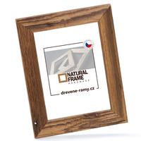 Dřevěný rám Antik 15x20 cm