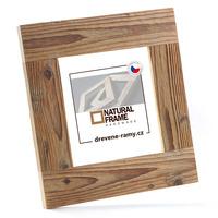 Dřevěný rám Antik 20x20 cm