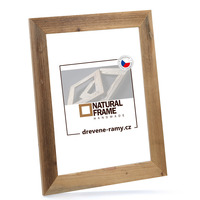 Dřevěný rám Antik 40x50 cm
