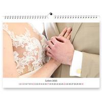 Fotokalendář A4 na šířku 12 foto