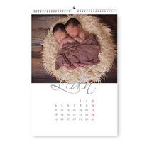 Kalendář A4 na výšku hand