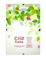 Skleněný clip rámeček 13x18 cm